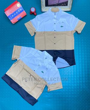 Classic Lacoste Short Sleeves Shirt | Clothing for sale in Lagos State, Lagos Island (Eko)