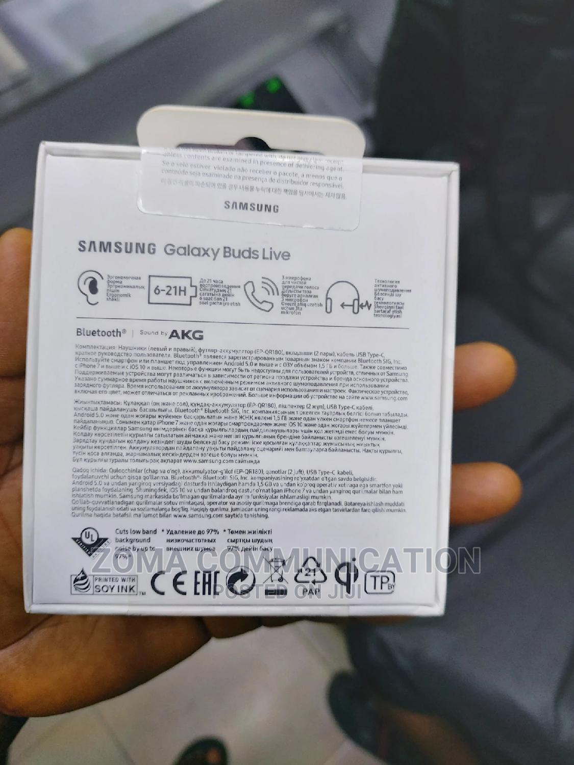Galaxy Buds Live | Headphones for sale in Ikeja, Lagos State, Nigeria