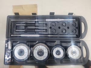 50kg Chrome Dumbbell   Sports Equipment for sale in Lagos State, Surulere
