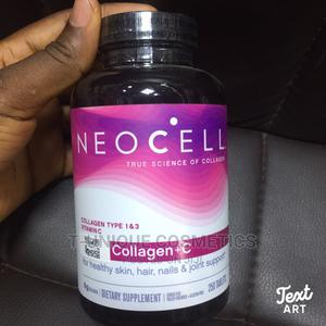 Neocell Super Collagen+C Type 1 3, 6g Plus Vitamin C 250tab | Vitamins & Supplements for sale in Lagos State, Ikorodu