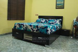 Modern BED-FRAME With Bed Side TABLE   Furniture for sale in Lagos State, Ikeja