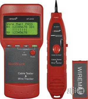 NF-8208 LCD Network Cable Length Tester.   Measuring & Layout Tools for sale in Lagos State, Ikeja