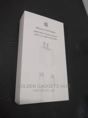 Original iPhone 12 Series Charger   Accessories for Mobile Phones & Tablets for sale in Lagos State, Ikeja
