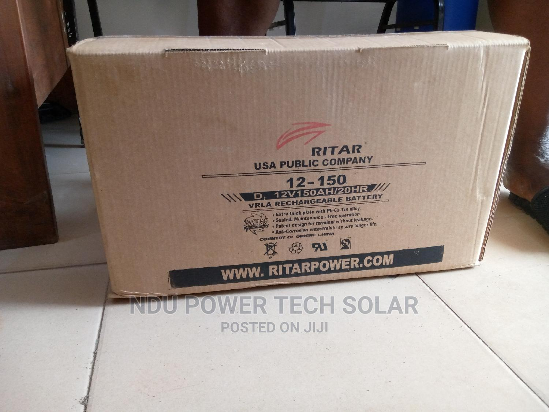 Archive: 12v/150ah Ritar Battery