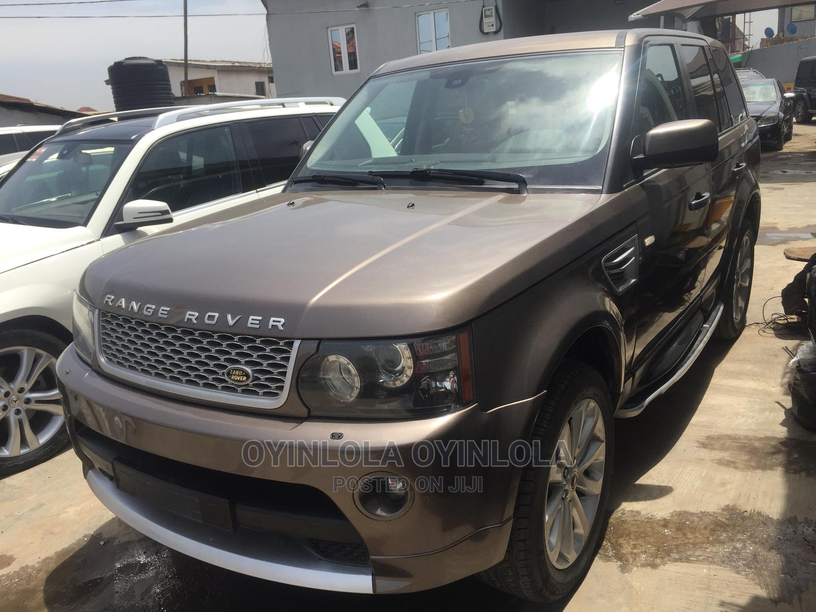 Archive: Land Rover Range Rover Sport 2010 Brown