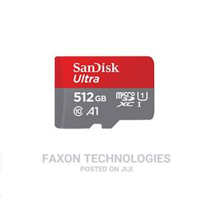 Sandisk 512GB Ultra Microsdxc UHS-I Memory Card With Adapter | Accessories for Mobile Phones & Tablets for sale in Lagos State, Ikeja
