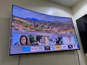 Samsung UE49KS9000 Curved SUHD HDR 1,000 4K Ultra HD Quantu   TV & DVD Equipment for sale in Lagos State, Lekki