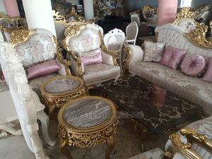 Executive Classic Turkish Brand Royal Set Fabric Sofas Chair   Furniture for sale in Lagos State, Ajah