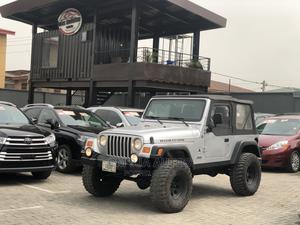 Jeep Wrangler 2004 Rubicon Gray   Cars for sale in Lagos State, Kosofe