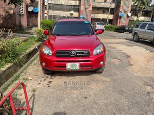 Toyota RAV4 2007 Red   Cars for sale in Lagos State, Ifako-Ijaiye