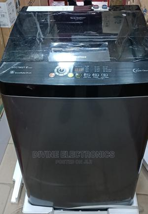 Hisense 8kg Top Loader Full Automatic Washing Machine   Home Appliances for sale in Lagos State, Ojo