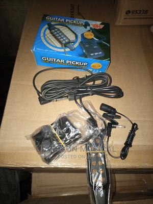 Guitar Pick Up With Microphone   Audio & Music Equipment for sale in Lagos State, Ojo