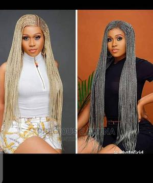 Long Braided Wig   Hair Beauty for sale in Edo State, Benin City