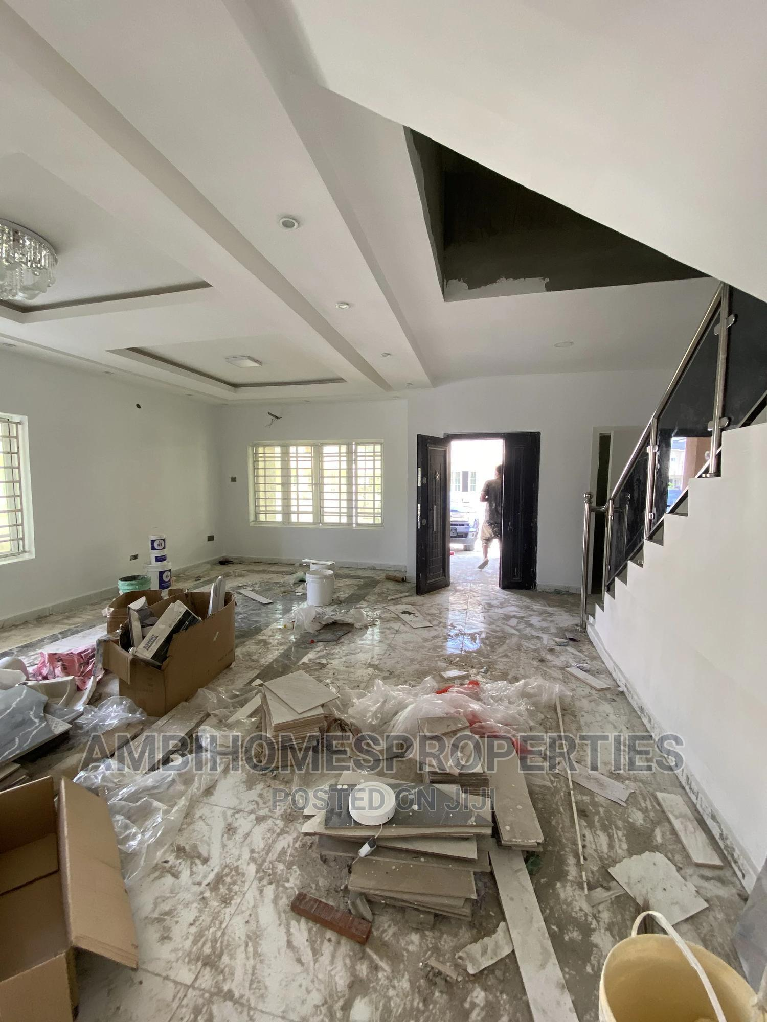 Archive: A Spacious 3bedroom Terrace Duplex With Bq Fully Serviced