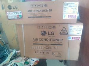 LG 1HP Gencool Inverter Split Unit Air Conditioner | Home Appliances for sale in Lagos State, Ojo