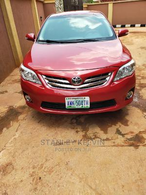 Toyota Corolla 2011 Red | Cars for sale in Anambra State, Awka