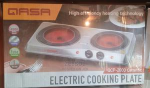 Qasa Electric Cooking Plate QCP-2000 Ceramic   Kitchen Appliances for sale in Oyo State, Ibadan