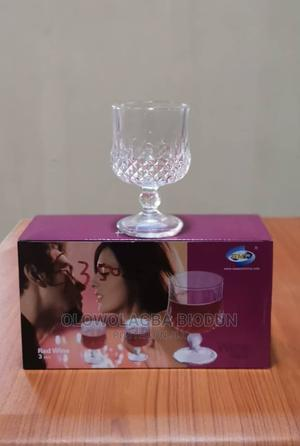 (3)PCS Red Wine Glasses | Kitchen & Dining for sale in Lagos State, Lagos Island (Eko)