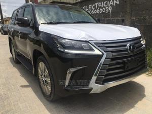 Lexus LX 2019 570 Three-Row Black   Cars for sale in Lagos State, Lekki