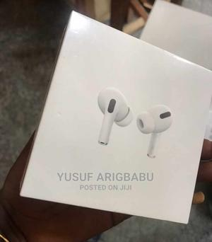 Original Airpod Pro + POUCH   Headphones for sale in Lagos State, Ikeja