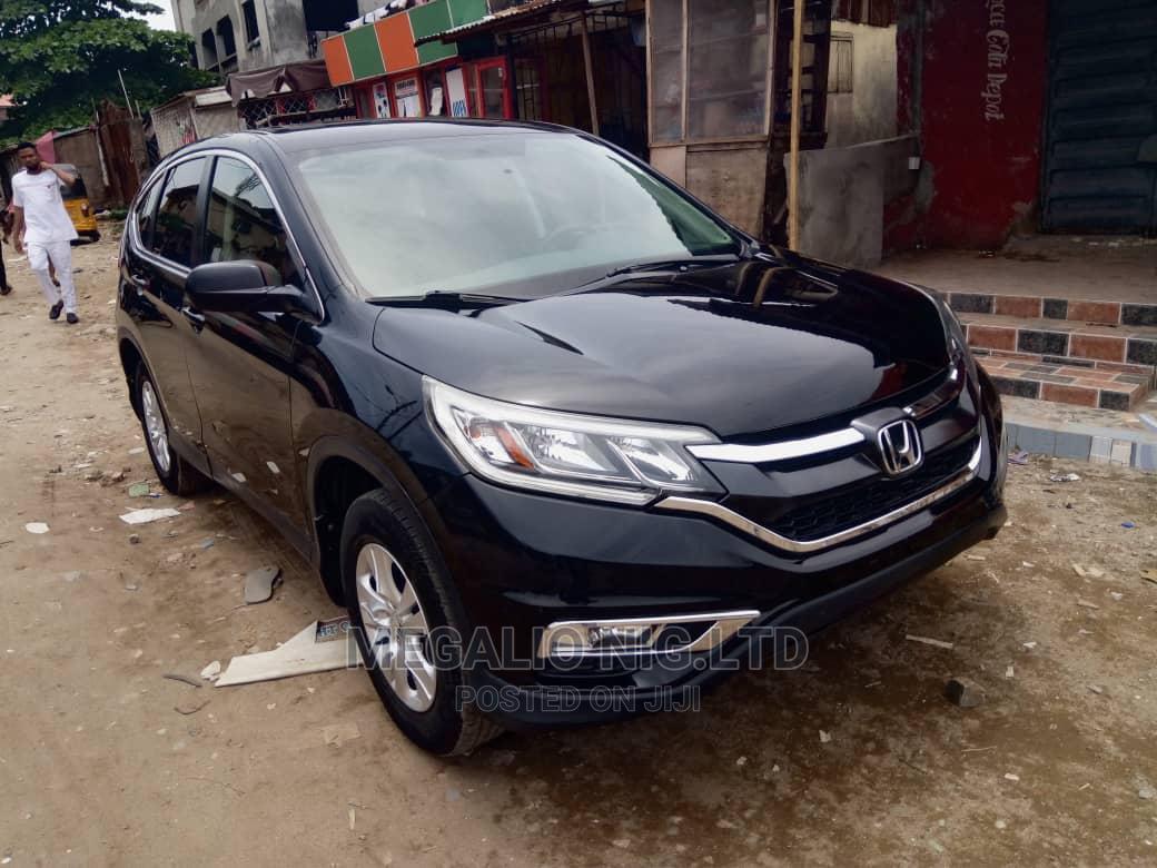 Honda CR-V 2015 Black | Cars for sale in Ikeja, Lagos State, Nigeria
