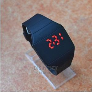 Ultra-Thin LED Unisex Slim Touch Screen Silicon Digital Watc | Watches for sale in Lagos State, Ikotun/Igando