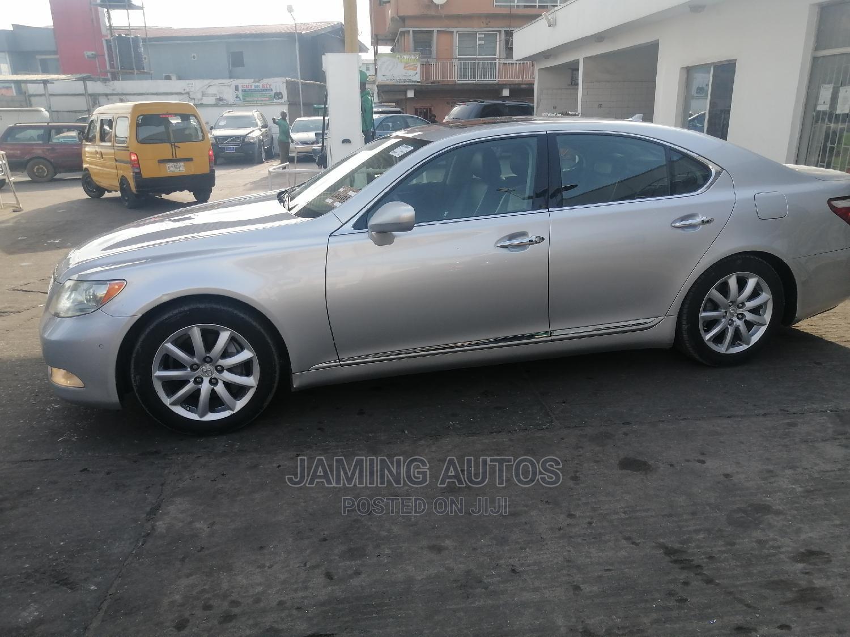 Archive: Lexus LS 2008 460 Silver