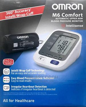 Omron M6 Comfort Automatic Upper Arm Blood Pressure Monitor.   Medical Supplies & Equipment for sale in Lagos State, Ojo