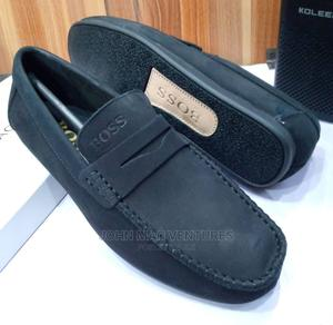 New Original Men Leather Flat Shoes | Shoes for sale in Lagos State, Ikeja