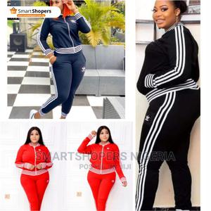 Adidas Women Two Piece Casual Tracksuit for Women | Clothing for sale in Abuja (FCT) State, Central Business District