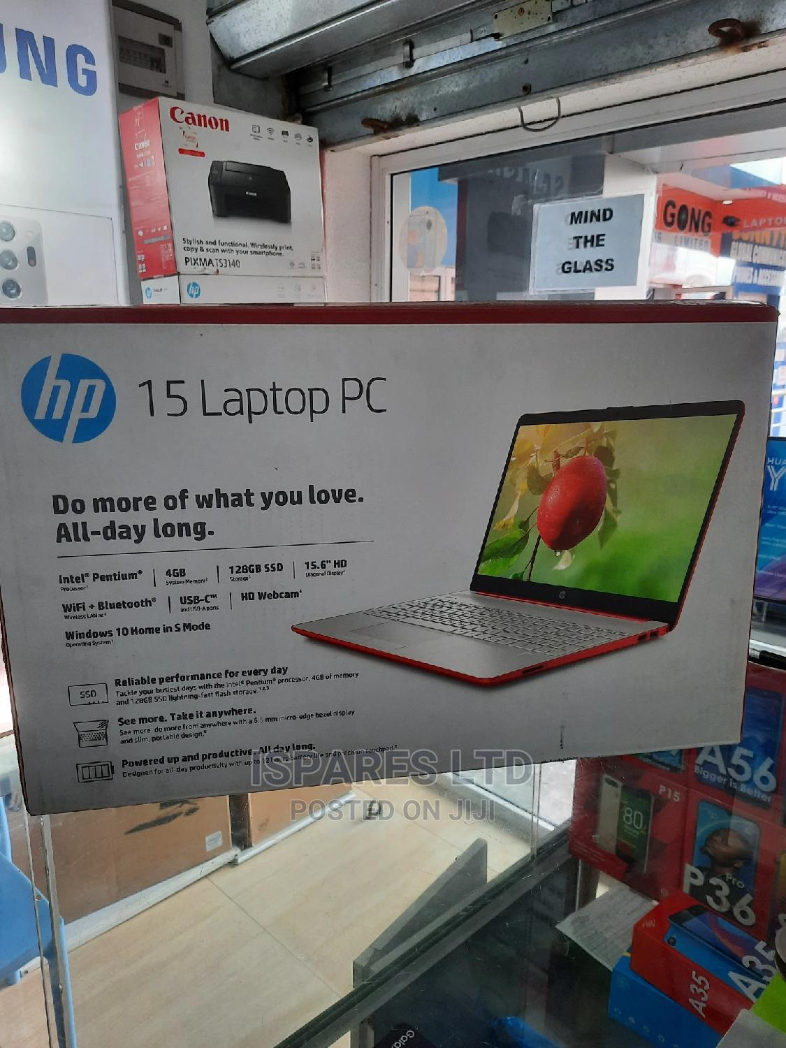 New Laptop HP 4GB Intel Pentium SSD 128GB | Laptops & Computers for sale in Obio-Akpor, Rivers State, Nigeria