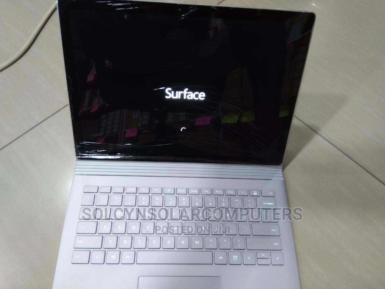 Laptop Microsoft Surface Pro 6 16GB Intel Core I7 SSD 512GB   Laptops & Computers for sale in Ikeja, Lagos State, Nigeria