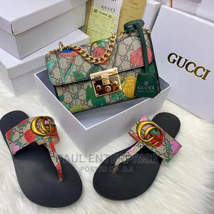 Beautiful High Quality Ladies Classic Handbag and Slippers   Shoes for sale in Abuja (FCT) State, Wuse 2