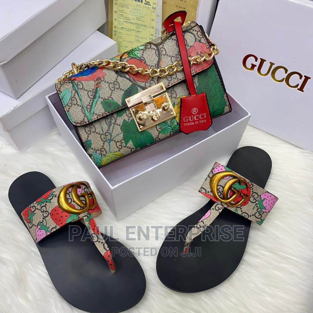 Archive: Beautiful High Quality Ladies Classic Handbag and Slippers