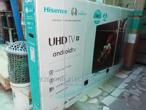 Hisense 65 Inches UHD Smart TV   TV & DVD Equipment for sale in Lagos State, Lekki