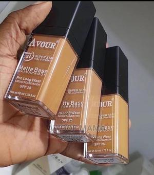 Avour Matte Foundation   Makeup for sale in Rivers State, Port-Harcourt