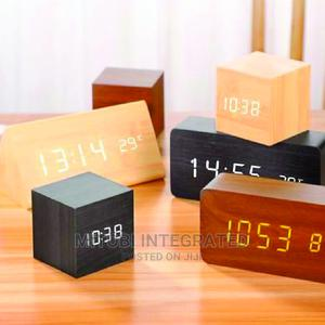 Wooden Digital Clock | Home Accessories for sale in Abuja (FCT) State, Wuse