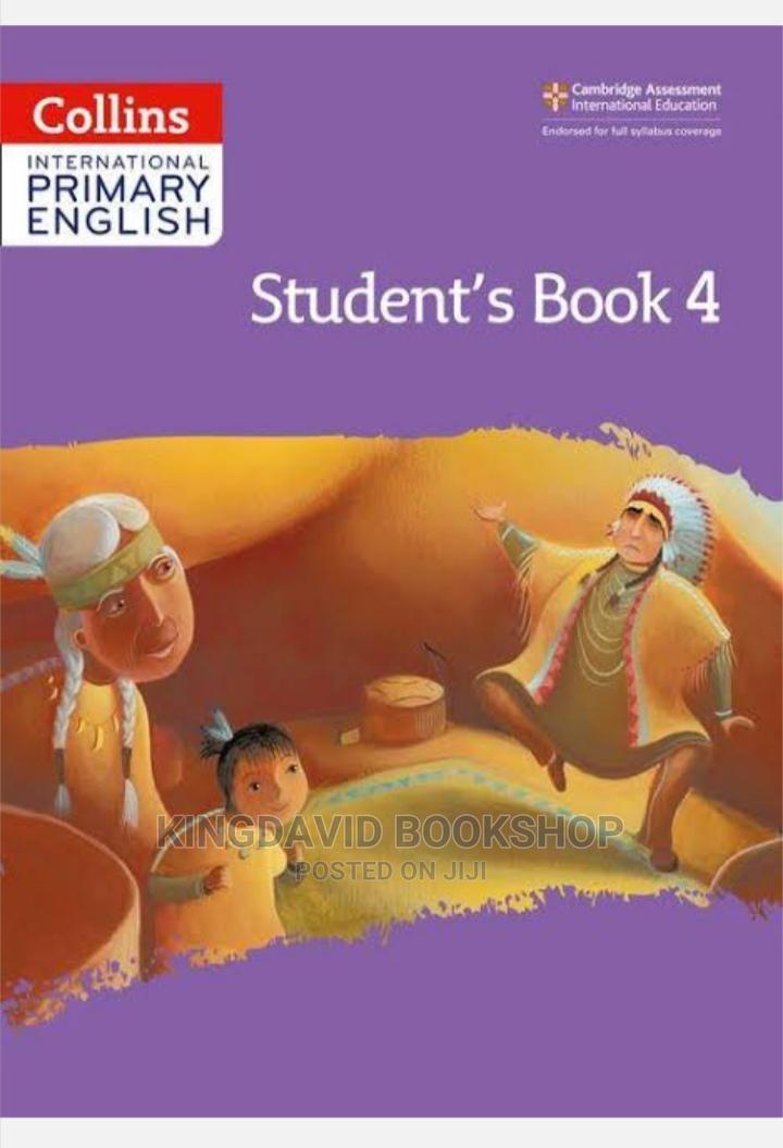 Collins International Primary English Text Work Book 4