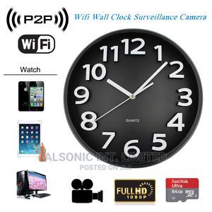Wall Clocks APP Wifi Spy Camera Wireless Hidden Nanny Camera   Security & Surveillance for sale in Abuja (FCT) State, Wuse