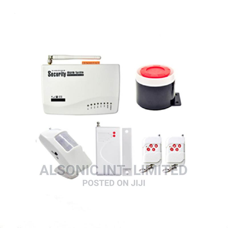 Wireless GSM/PSTN Home Alarm Security System Burglar Alarm S   Safetywear & Equipment for sale in Wuse, Abuja (FCT) State, Nigeria