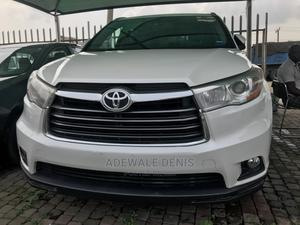 Toyota Highlander 2016 XLE V6 4x4 (3.5L 6cyl 6A) White   Cars for sale in Lagos State, Ikeja