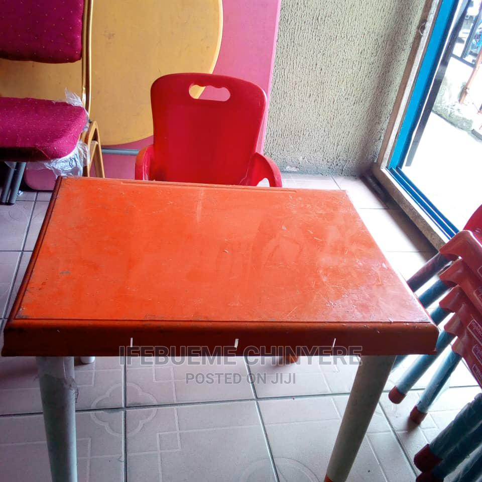 Fuji Children Chair And Table