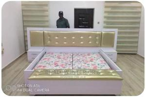 Quality Bed Frame With 2 Bed Side   Furniture for sale in Lagos State, Ikeja