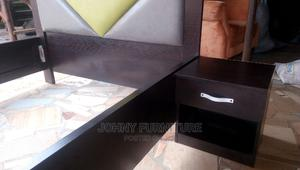4.5 by 6 Bed With One Bed Side With High Quality HDF | Furniture for sale in Lagos State, Ikeja