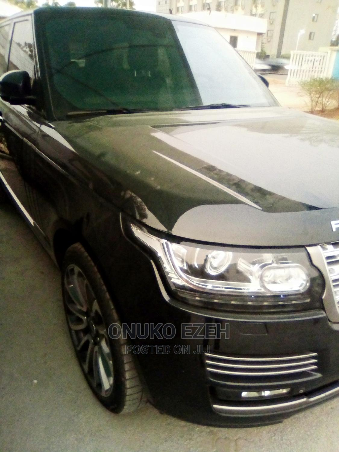 Land Rover Range Rover 2014 Black   Cars for sale in Central Business District, Abuja (FCT) State, Nigeria
