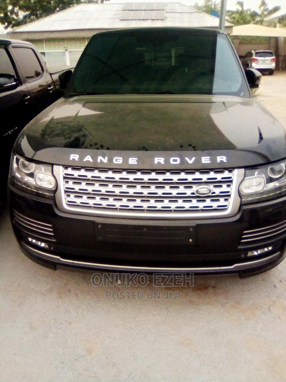 Land Rover Range Rover 2014 Black