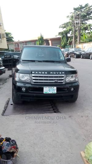 Land Rover Range Rover Sport 2008 Black   Cars for sale in Lagos State, Ikeja