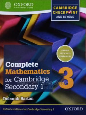 Checkpoint Complete Mathematics for Cambridge Secondary 1   Books & Games for sale in Lagos State, Surulere