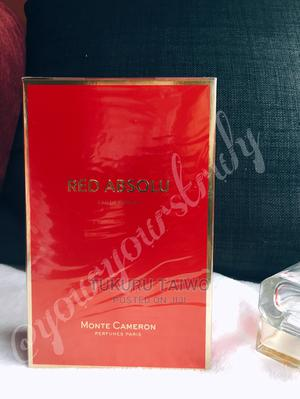 Monte Cameron Red Absolu Edp 100ml | Fragrance for sale in Lagos State, Ikeja