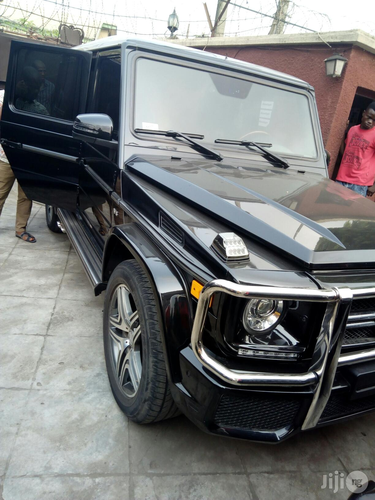 Mercedes-Benz G-Class 2009 Black | Cars for sale in Ikeja, Lagos State, Nigeria